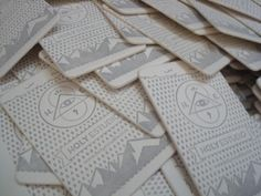 Business cards!  www.behance.net/holyestudio  Press: Ex Industria Argentina http://www.facebook.com/exindustria.argentina