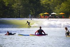 Wavegarden: the NLand Surf Park will open in Austin   Photo: Wavegarden