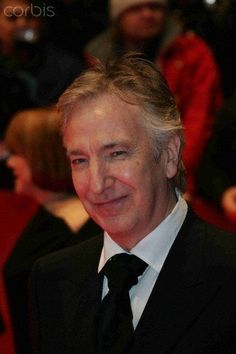 February 9, 2006 - Alan Rickman at the opening of Snow Cake during the Berlinale Film Festival. Copyright © Corbis, Desmond O'Neill Features, and Photoshot