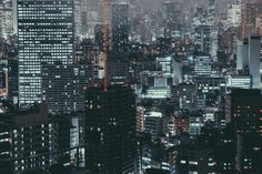 A gallery of all the cyberpunk deliciousness and futurism one can run into in Tokyo