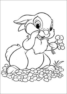 peter rabbit easter coloring pages