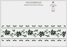 Semne Cusute: Romanian traditional motifs: MUNTENIA, Teleorman