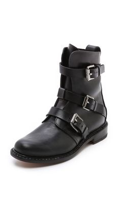 Rag & Bone Hudson Buckle Booties