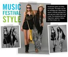 music festival style