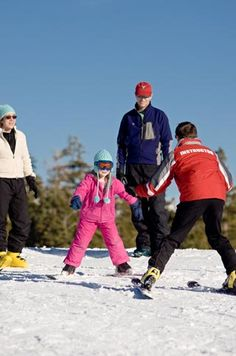 Badger Pass the perfect place to learn to ski or snowboard
