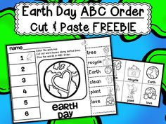Earth Day Printables now 50% off plus New FREEBIE
