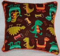 Dinosaur Children's Pillow
