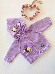 Newborn baby girl jacketbaby girl take by TwoNeedlesOneMagic