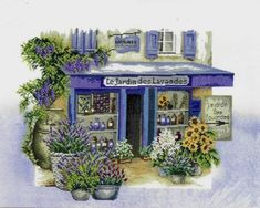 Lavender Shop by Lanarte.  Still regret not buying this when I saw it years ago, and now it's discontinued.