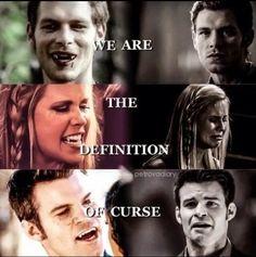 #TheOriginals - Klaus, Elijah & Rebekah