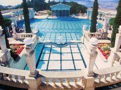 Outdoor pool at Hearst Castle, San Simeon, Calif -