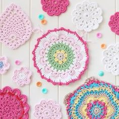 This pretty mandala was sent off for #mandalasformarinke yesterday. @kvercillo is organising a tribute for @acreativebeing (this her Petals and Picots pattern) Visit Kathyrn's feed for details on how you can contribute. Xx