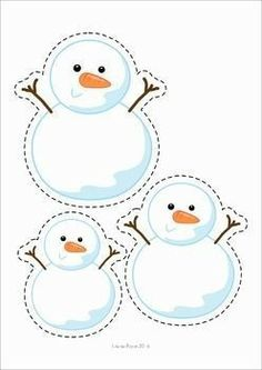 A page from the unit: order by size: snowmen Winter Preschool Centers. Winter Activities For Kids, Winter Crafts For Kids, Winter Kids, Winter Art, Preschool Centers, Preschool Themes, Craft Activities, Preschool Crafts, Preschool Lessons