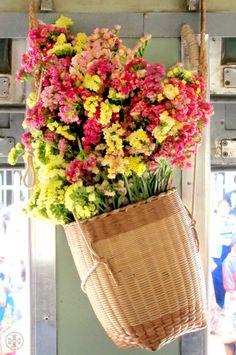Myanmar flowers - Tory Burch
