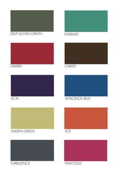 Pantone Colours: Autumn 2013