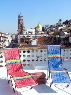 Terraza #HotelCatedral #PuertoVallarta