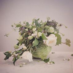 Catherine Muller Flower School in London and Paris Silk Floral Arrangements, Fall Arrangements, Floral Centerpieces, Table Centerpieces, French Flowers, Love Flowers, Floral Style, Floral Design, Cut Flower Garden