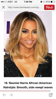 Shoulder length hair...Blonde might give that a try
