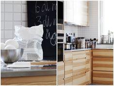 Hitta hem   Vedum kök LIV ask, rostfri diskbänkplåt och blankt vit mosaik 5x5cm   Annedal 2012