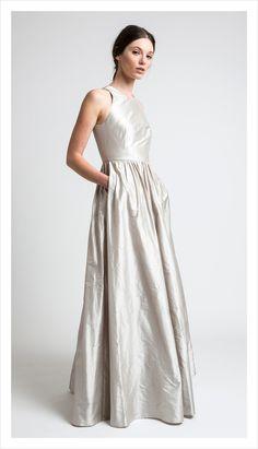 award dress, silk duping | juliette hogan