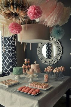 Party dessert table