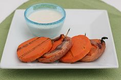 Saturdays with Rachael Ray - Bacon Wrapped Sweet Potato Kabobs - Taste and Tell