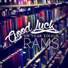 Good luck this week, Rams!
