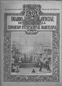 Diario oficial de la exposición internacional de Barcelona 1929 | Coleccionismo…