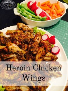 Heroin Chicken Wings
