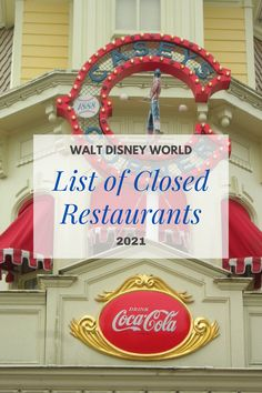 Not all restaurants have reopened yet. Here is a list of all the closed restaurants at Disney World. However, you can find some menu items from closed restaurants added to the opened restaurants. This list will help with your Disney trip planning. Best Disney World Restaurants, Disney World Hotels, Disney World Food, Disney World Planning, Walt Disney World Vacations, Disney World Resorts, Springs Resort And Spa, Caribbean Beach Resort, Disney On A Budget