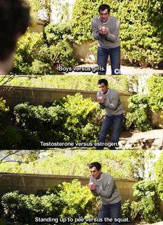 Modern Family.  Phil. He's the best!!!