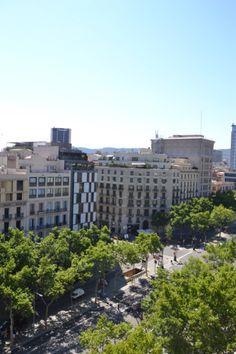 Vistas desde el tejado de La Pedrera, Barcelona #lapedrera #barcelona