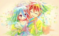 no game no life sora y shiro -