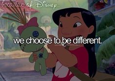 we choose to be different.