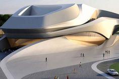 Rabat theatre in Morocco, by Zaha Hadid [Zaha Hadid: http://futuristicnews.com/tag/zaha-hadid/]                                                                                                                                                      More