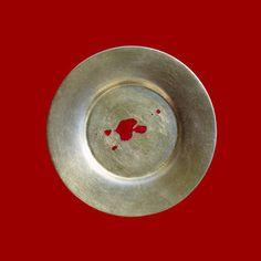 pommegranate splash Plates, Ceramics, Abstract, Tableware, Photography, Art, Licence Plates, Ceramica, Summary
