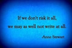 Be daring with your writing - after all, if you don't like what comes out, just call it a first draft and scrap it. No one has to see!
