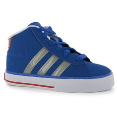 adidas | adidas Daily Mid Childrens Trainers | Kids Shoes £27
