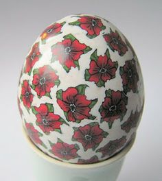 Polymer Clay Millefiori Easter Egg