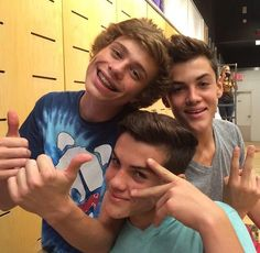 Dail and the Dolan twins