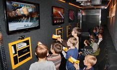 Mobile Gamin' Ride theaters travel to the party host's doorstep, providing access to the latest video-game systems for up to 16 kids Fun Video Games, Latest Video Games, Video Game Party, Party Games, Tuesday Motivation, Salt Lake City Utah, Mobile Video, Host A Party