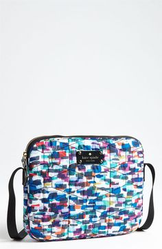 kate spade new york 'signature spade - quilted bryce' iPad 2 & 3 crossbody bag available at Nordstrom