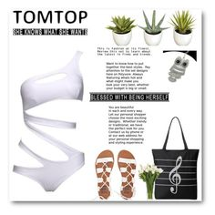 """""""Tomtop 25"""" by emina-turic ❤ liked on Polyvore featuring Improvements, Billabong, NDI and vintage"""