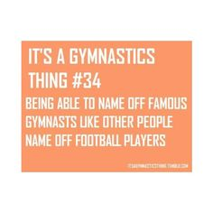 """It's A Gymnastics Thing"" - Quotes to help you floor it each and every day.  #gymnasticsinspiration"