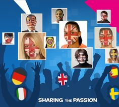 Panasonic have just launched an App called Flag Tags, a colourful demonstration of the support for one's country during the Olympic Games. Get involved!