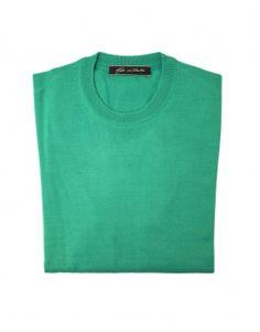 Girocollo Verde Bandiera