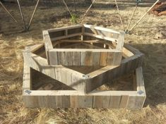 Repurposed Pallet Planters