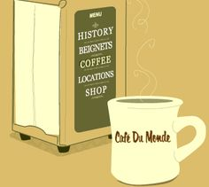 Cafe au Lait - Every day.