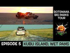 Botswana Big Parks Tour - (Crossing the Makgadikgadi Pans Episode Episode 5, Parks, Africa, Tours, Island, Big, Youtube, Movie Posters, Film Poster