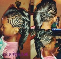 Maybe For A Special Occasion? - http://www.blackhairinformation.com/community/hairstyle-gallery/kids-hairstyles/maybe-special-occasion/ #kidshairstyles